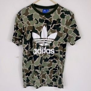 Adidas Camo Printed Shirt